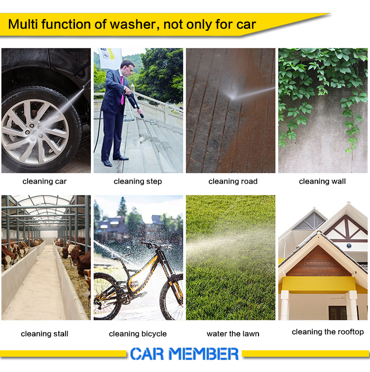 other functions for pressure washer for car wash business
