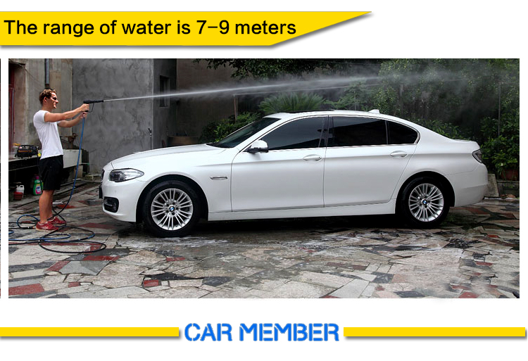 pressure washer for car wash business water range
