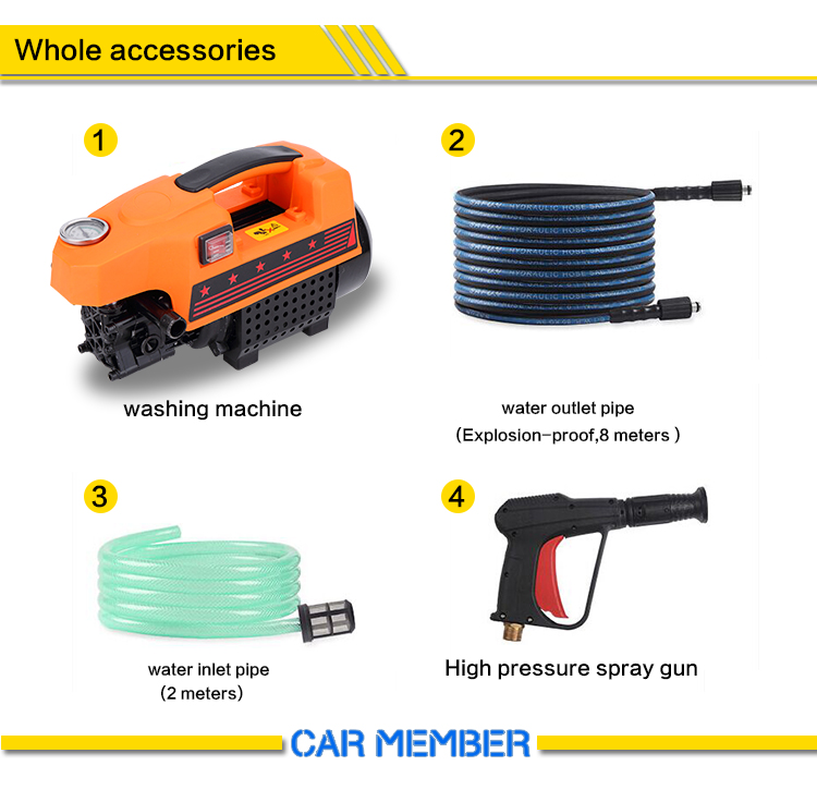 pressure washer for car wash business accessories