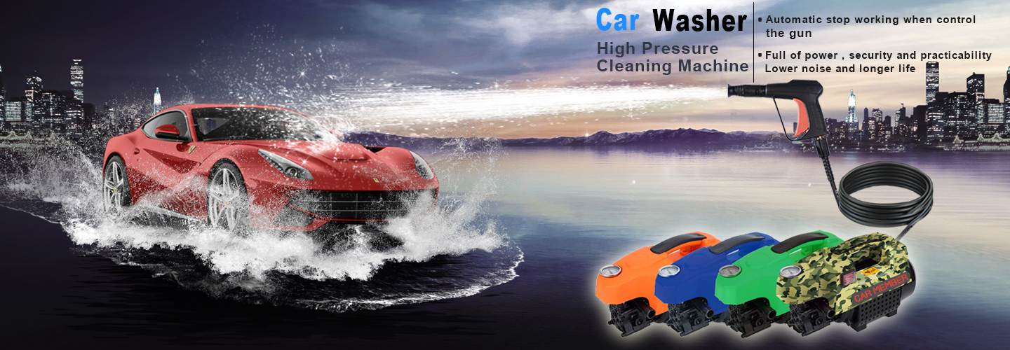 Commercial Car Wash Equipment--C200 - High Pressure Washer C200
