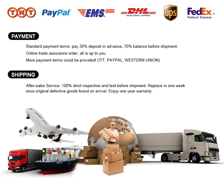 Payment and Shiping of Pure Steam Generator